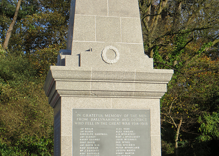 Ballynahinch War Memorial